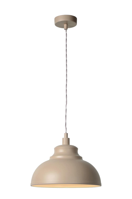 Lucide ISLA Pendel E14 D29 H22cm Bruin