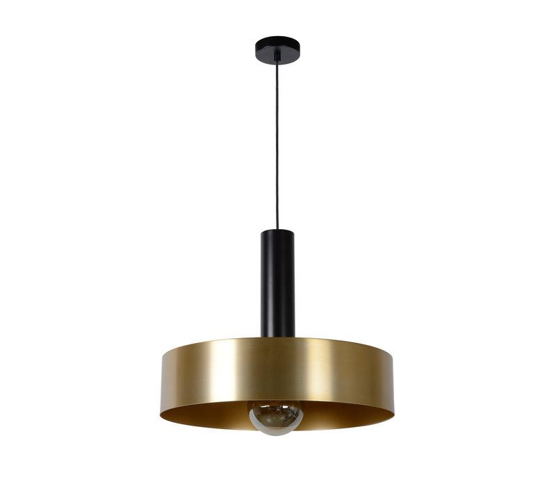 GIADA Hanglamp E27/60W Ø50cm  Mat Zwart/Mat Goud