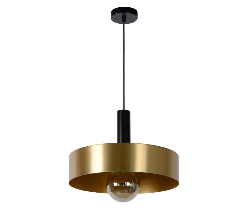 GIADA Hanglamp E27/60W Ø40cm  Mat Zwart/Mat Goud