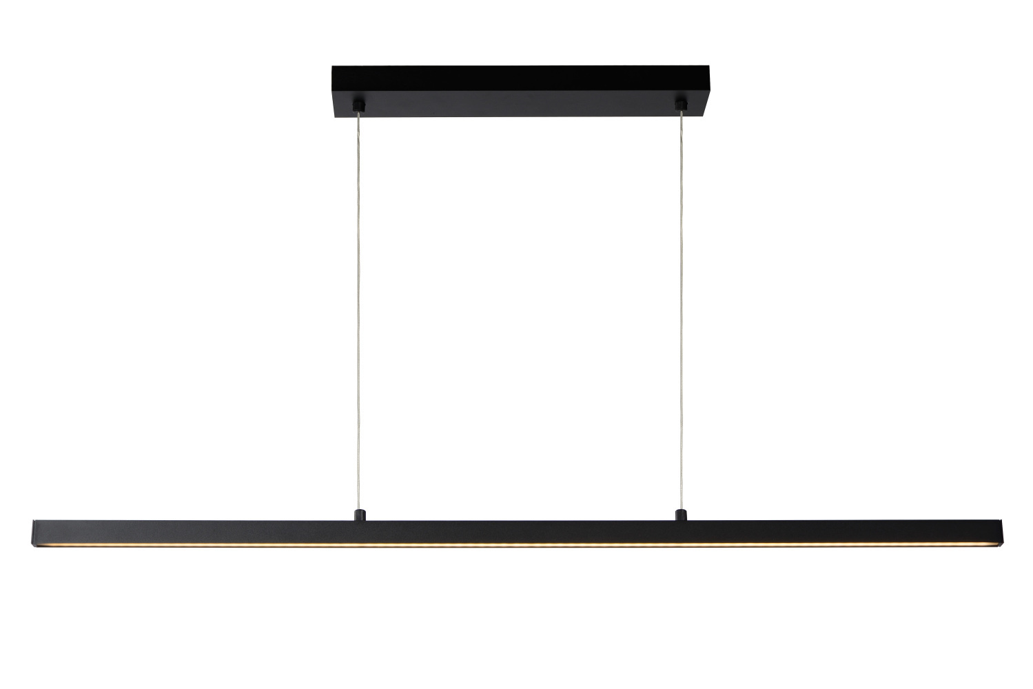 Lucide SIGMA Hanglamp-Zwart-LED Dimb.-31W-2700K-Alumin.