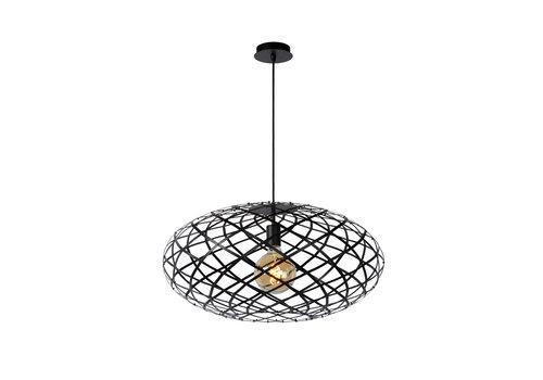 Lucide WOLFRAM Hanglamp E27 Ø 65cm Mat Zwart