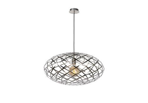 Lucide WOLFRAM Hanglamp E27 Ø 65cm Mat Chroom