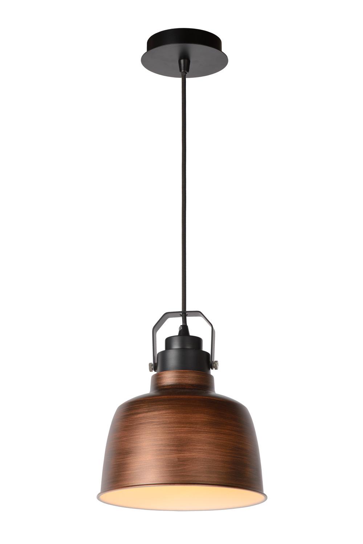 Lucide NAUT Pendel E27 21.5 H152cm Koper