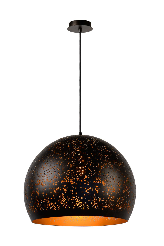Lucide ETERNAL Hanglamp-Roest .-Ø50-1xE27-60W-Alumin.
