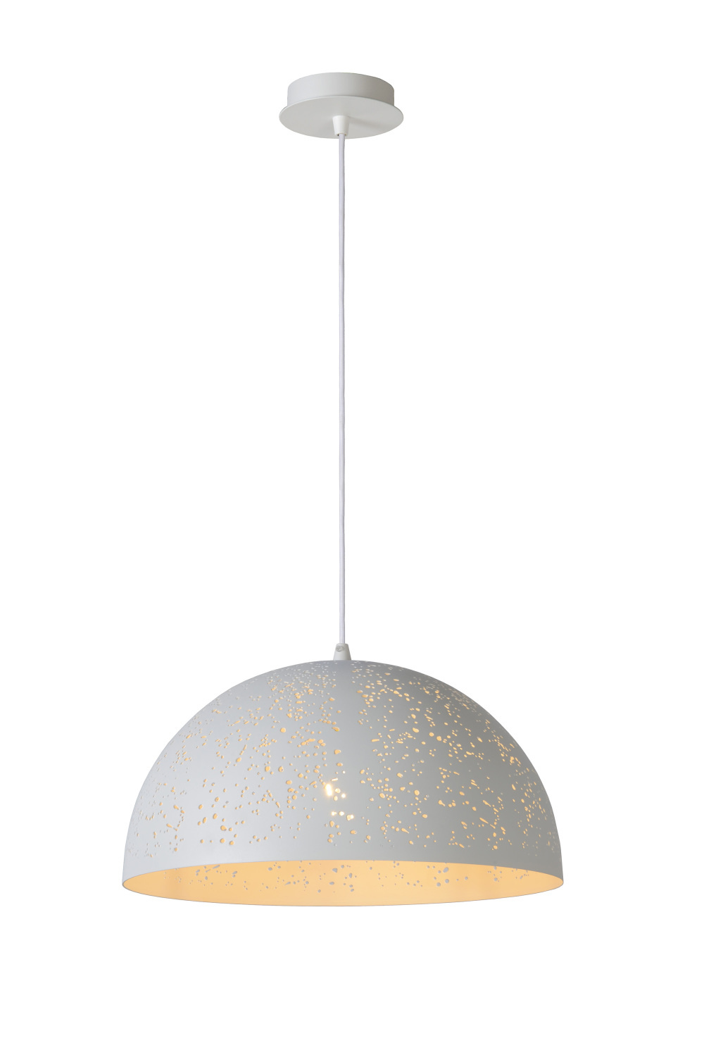 Lucide Eternal Hanglamp (Rond)  40 cm - Wit