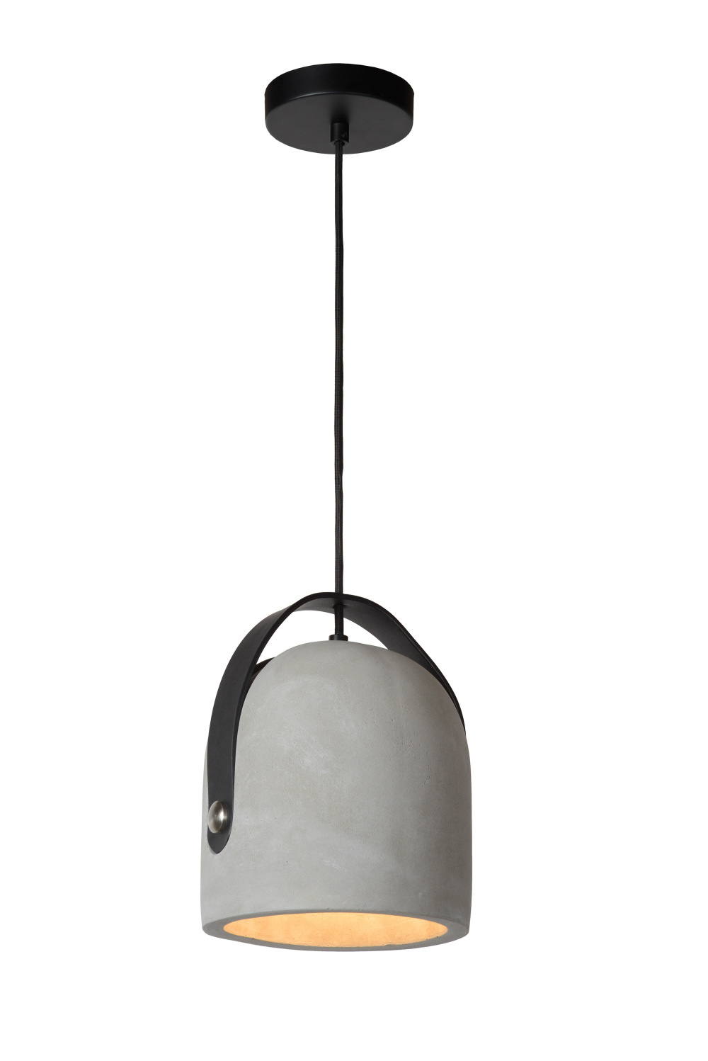 Lucide COPAIN Hanglamp-Taupe-Ø20-1xE27-40W-Beton