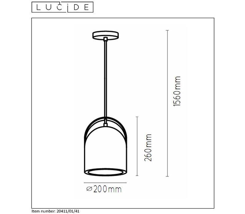COPAIN Pendel E27 Beton H26cm Taupe