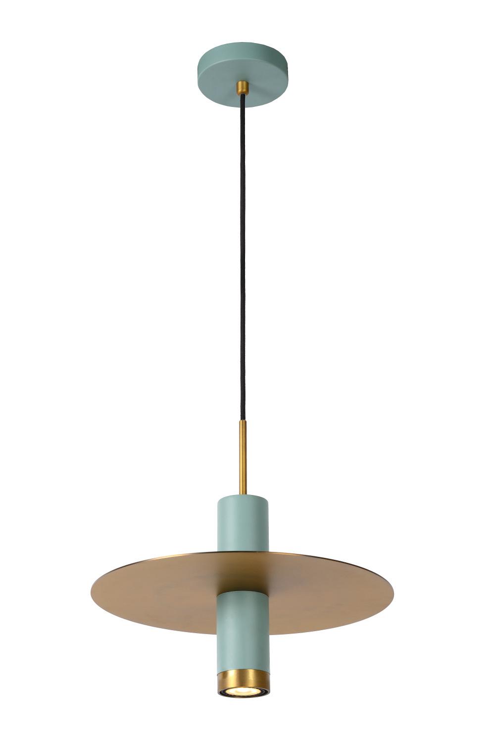 Lucide SELIN Hanglamp-Turkoo.-Ø35-1xGU10-35W-Metaal