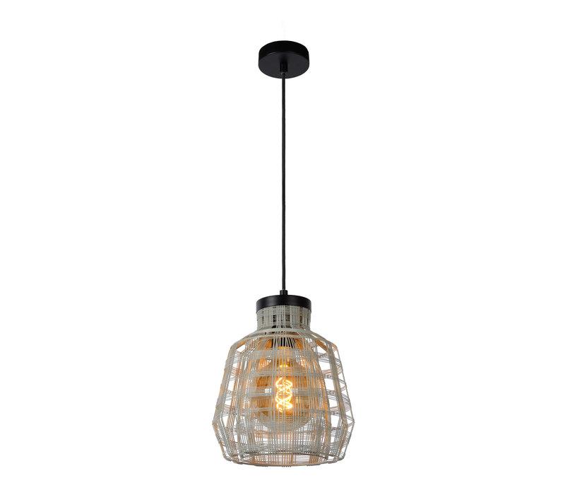 FIONA Hanglamp 1xE27/60W Grijs