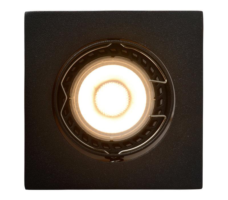 FOCUS Inbouw Vierk LED 3xGU10/5W 3000K 8/8/10.5