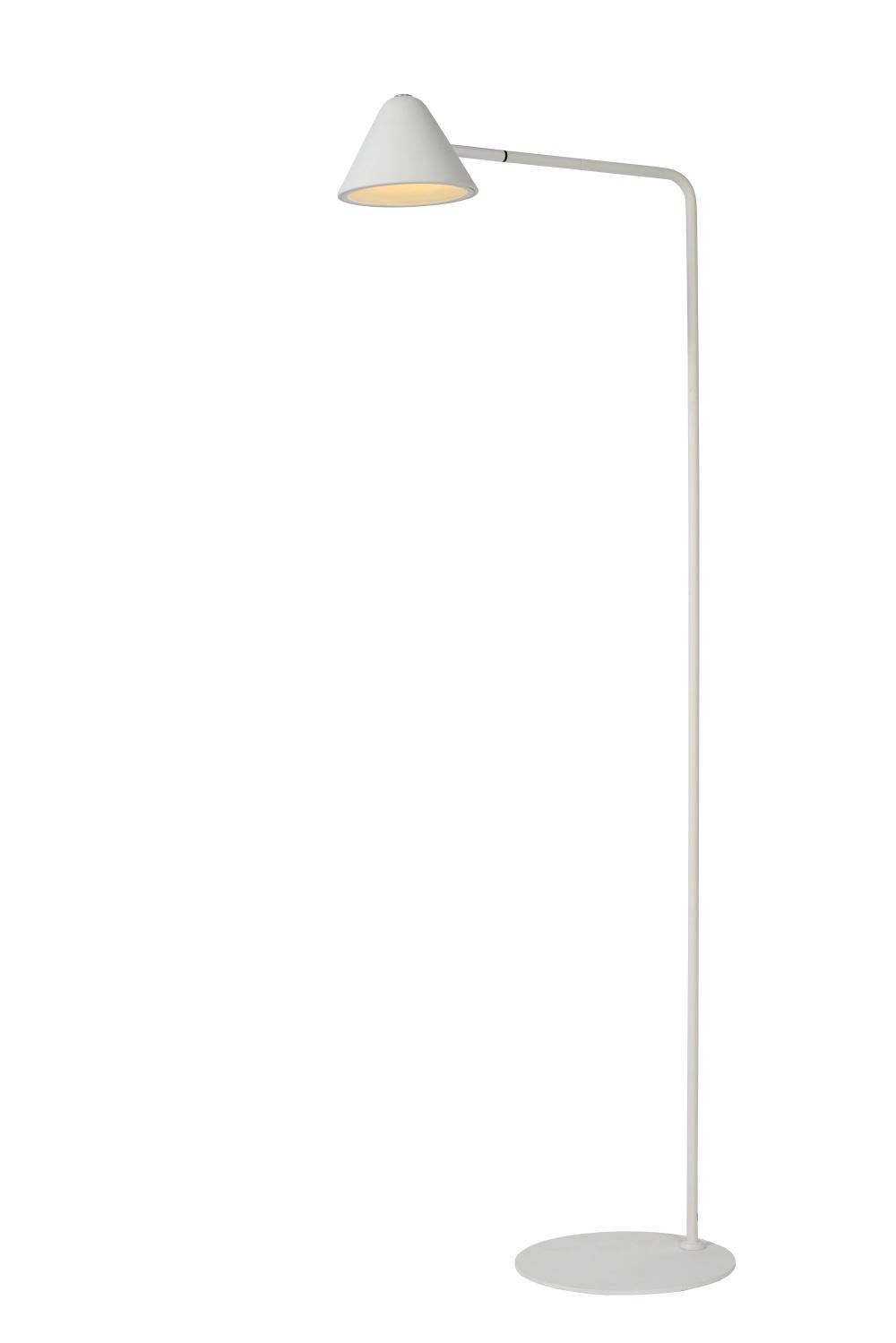 Lucide Devon Leeslamp 3w / Led H129 5m Blanc