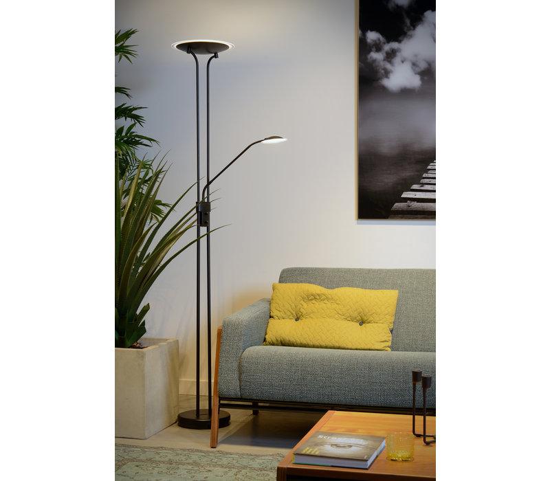 CHAMPION-LED Leeslamp 20W +4W H180cm 1600+320LM