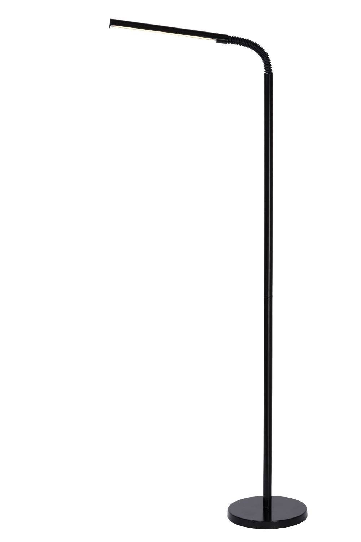 Lucide GILLY Staanlamp LED 5W H153 D20cm 4000K Zwa