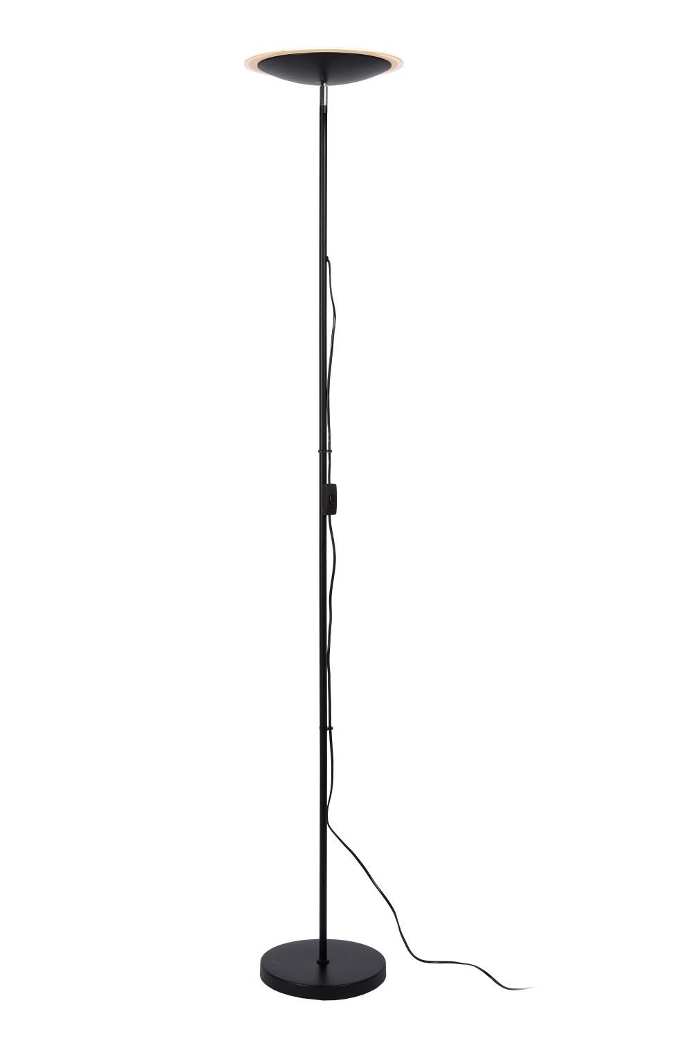 Lucide PRYMUS Vloerlamp LED 20W Zwart
