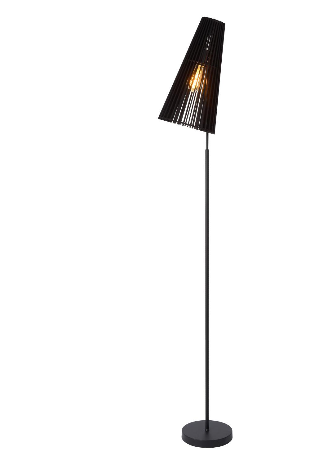 Lucide NORALIE Vloerlamp E27 40W Zwart