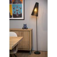 NORALIE Vloerlamp E27 40W Zwart