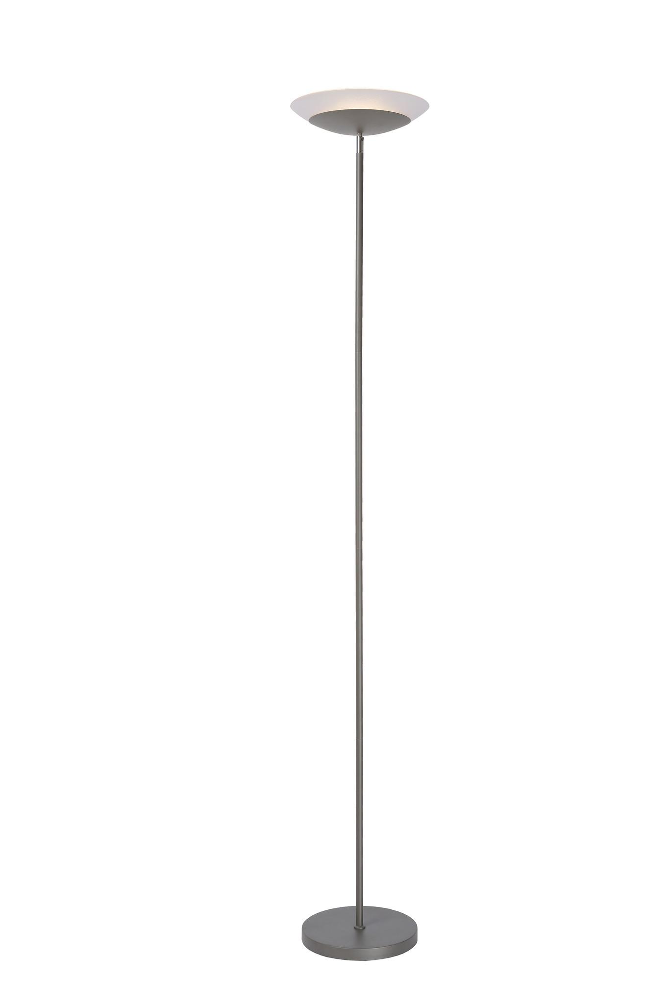 Lucide ZIGGY LED Vloerlamp 18W 1600LM 3000K Grijs