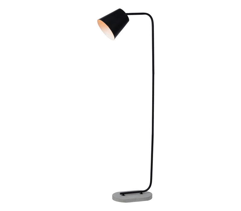 CONA Vloerlamp E27/40W H150cm Zwart