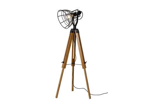 Lucide JOSHUA Vloerlamp E27 H104cm Zwart