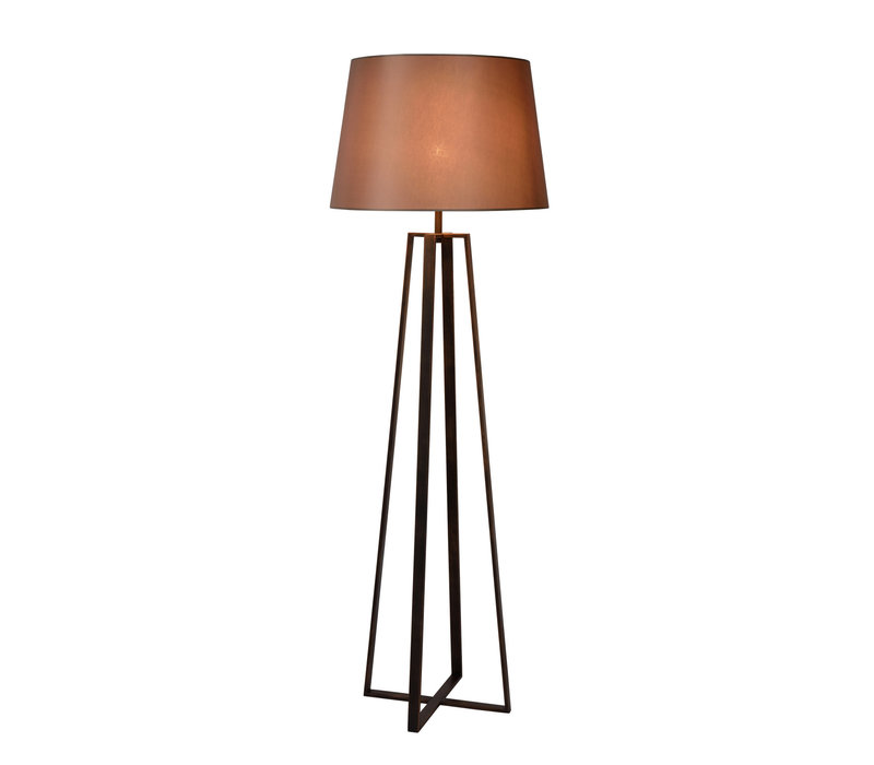 COFFEE Vloerlamp E27 D55 H165cm Roest