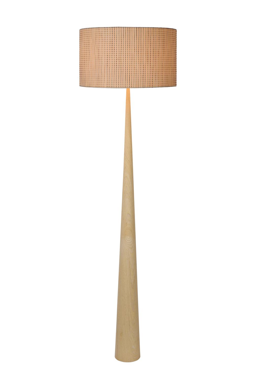 Lucide CONOS Vloerlamp-Licht .-Ø48-1xE27-60W-Metaal