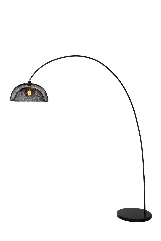 Lucide MESH Vloerlamp E27/60W Zwart
