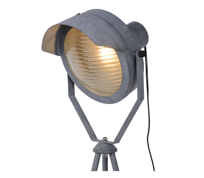 CICLETA Vloerlamp E27/40W Grijs
