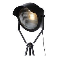 CICLETA Vloerlamp E27/40W Zwart