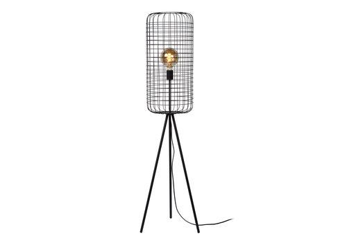 Lucide ESMEE Vloerlamp 1xE27 60W Ø31cm H146cm Zwart