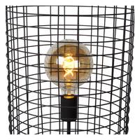 ESMEE Vloerlamp 1xE27 60W Ø31cm H146cm Zwart