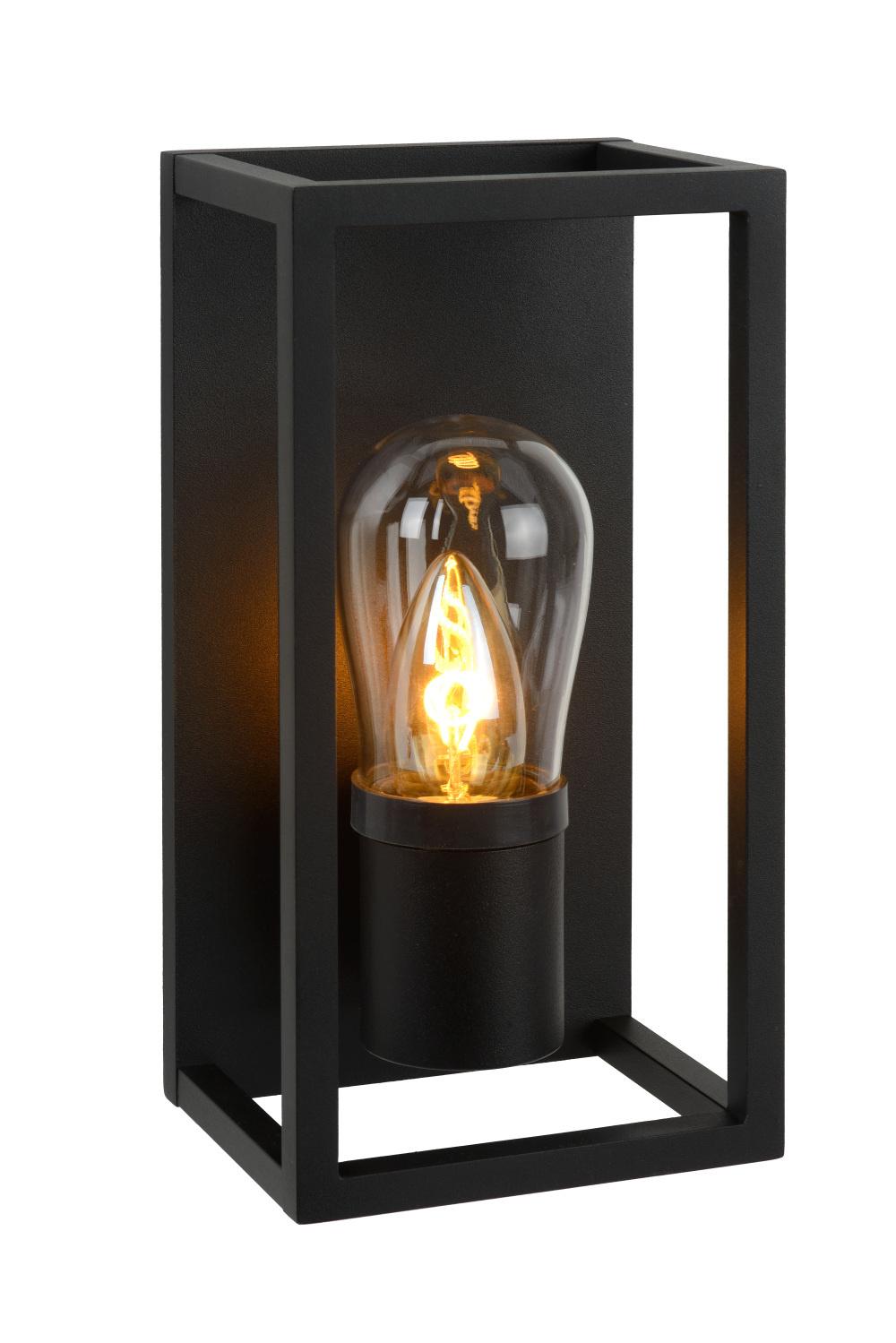 Lucide CARLYN Wandlicht Badkamer E14/6W Zwart
