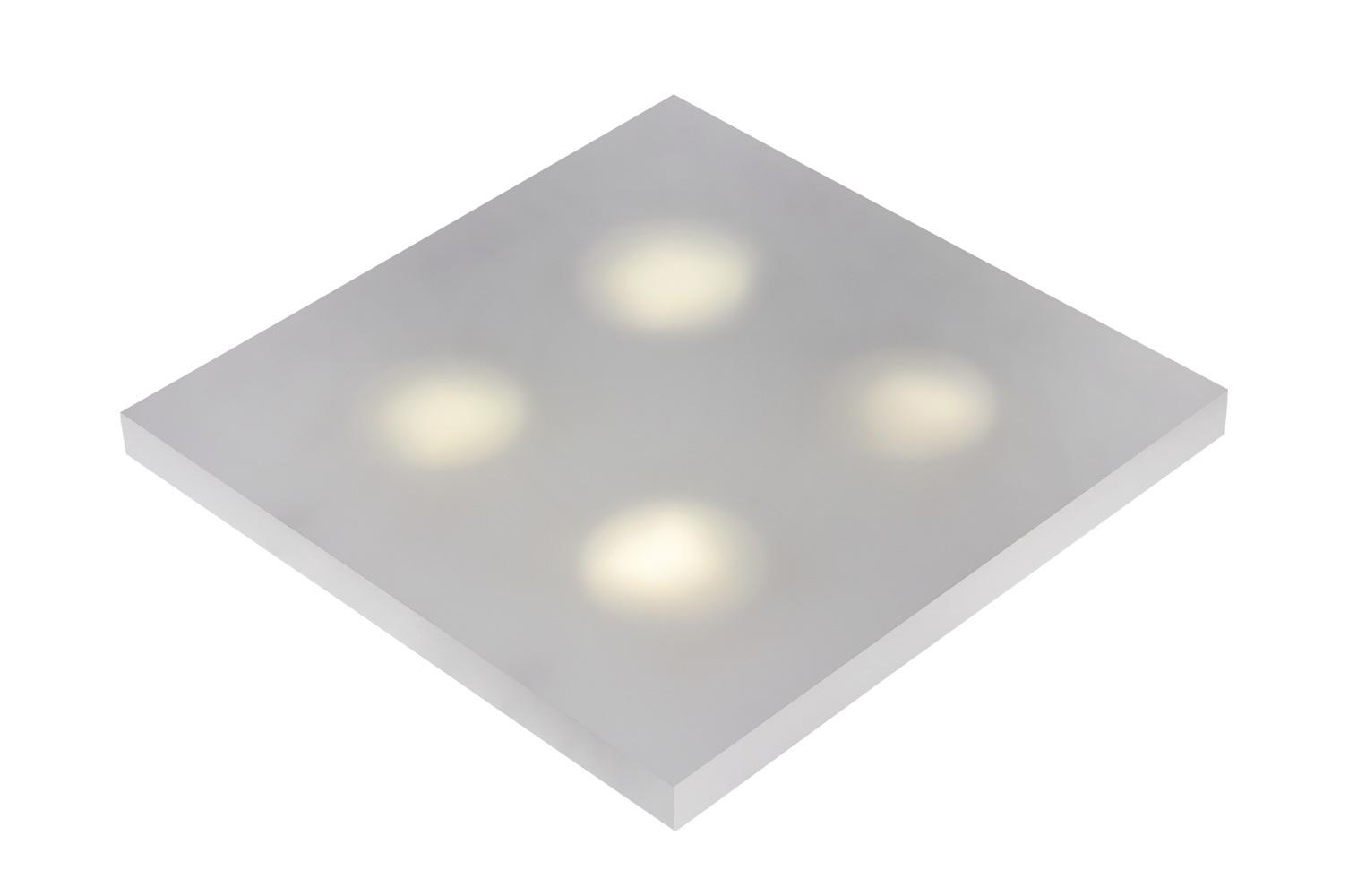 Lucide WINX-LED Wandlicht 4xGX53/7W 6/35/35cm Ijsmat Acry