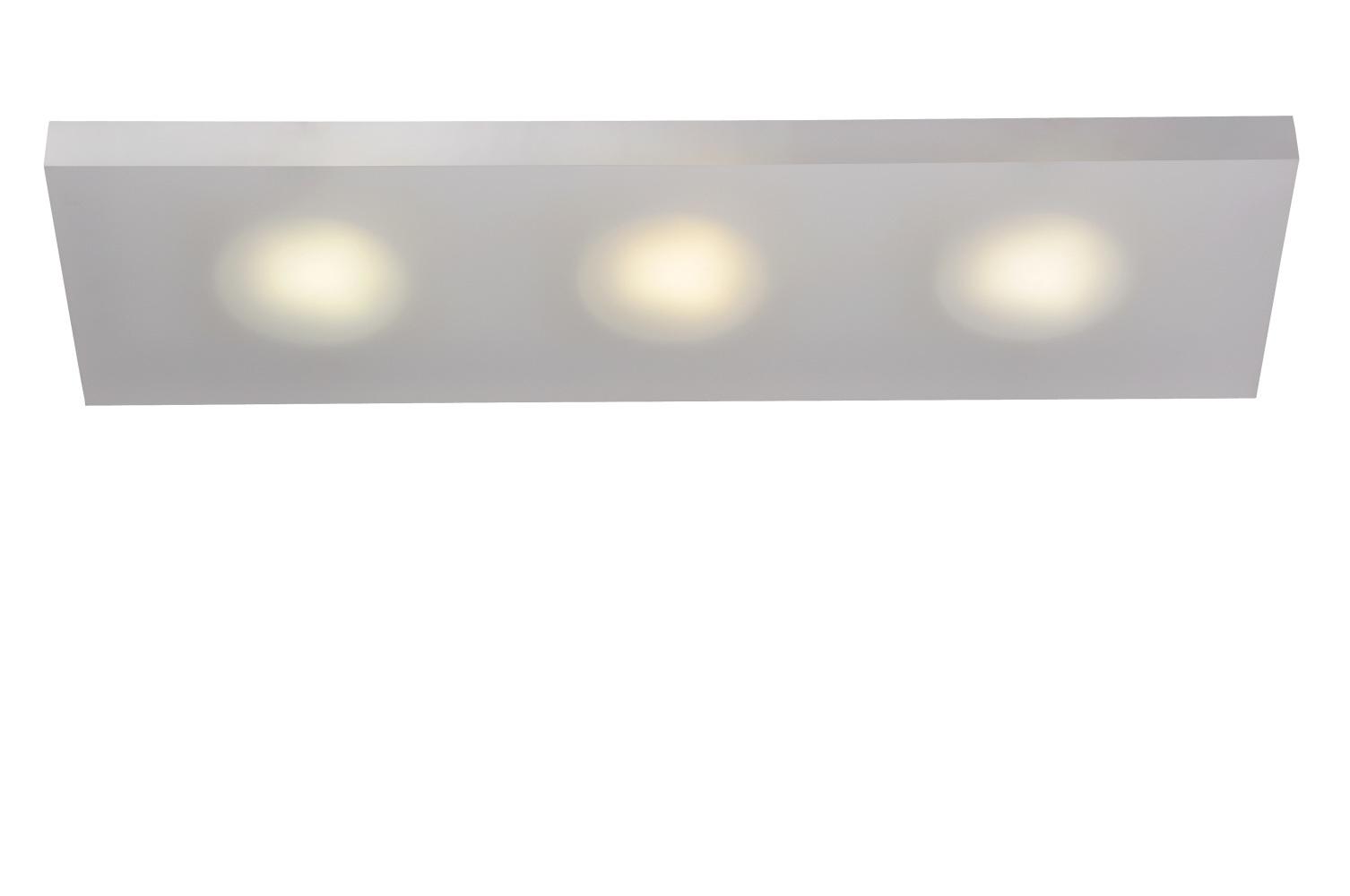 Lucide WINX-LED Wandlicht 3xGX53/7W 6/15/50cm Ijsmat Acry