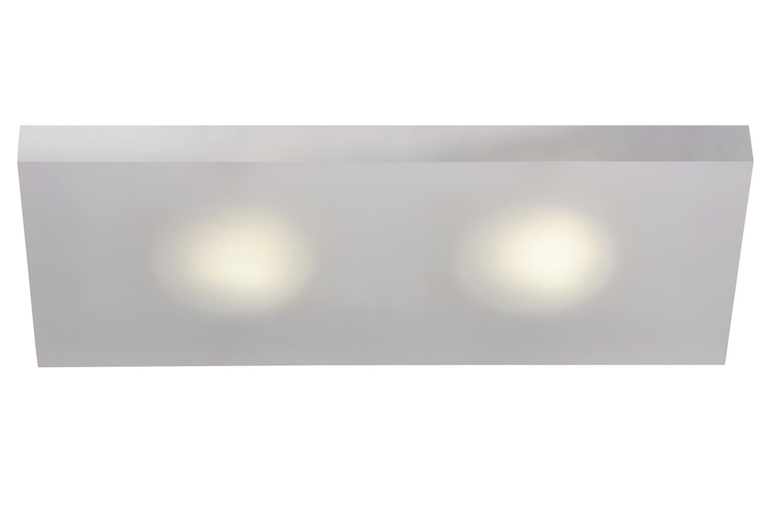 Lucide WINX-LED Wandlicht 2xGX53/7W 6/15/35cm Ijsmat Acry Diverse verlichting
