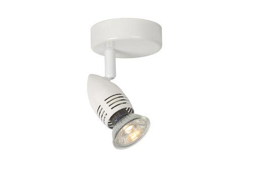 Lucide CARO-LED Wandspot   1x GU10/5W Ø8.5 H10.5 Wit
