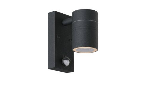 Lucide ARNE-LED Wandspot Buiten-Zwart-Ø6,3-LED-1xGU10-5W