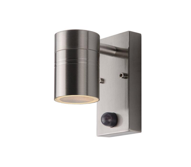 ARNE-LED Wandlicht +IR 1xGU10/5W 2700K Mat Chroom