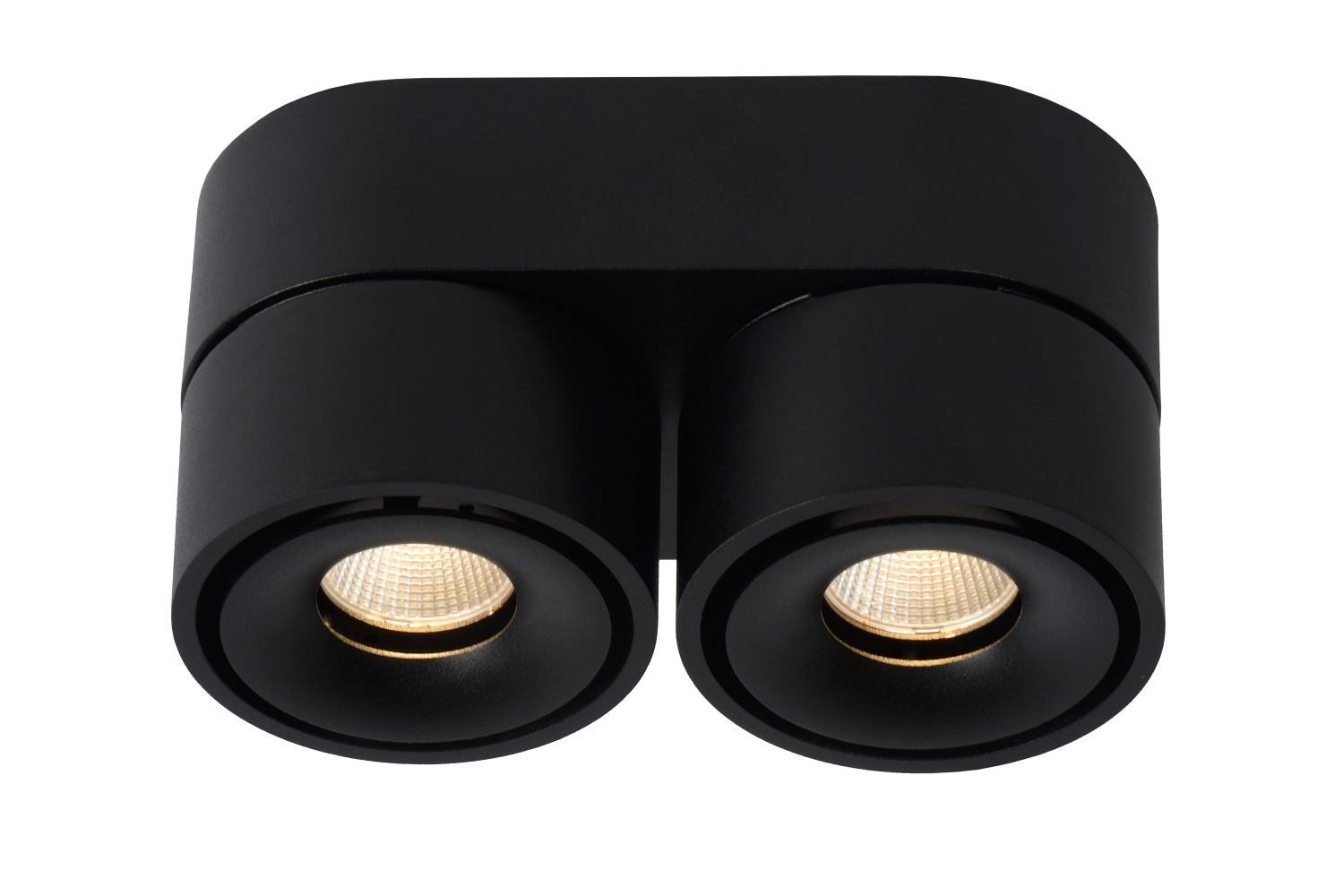 Lucide YUMIKO Plafondspot-Zwart-Ø7,8-LED Dimb.-10W-2700K