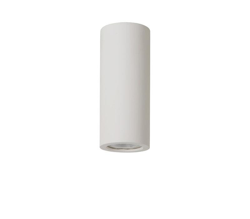 GIPSY Plafondlicht Rond GU10 D7 H17cm Wit