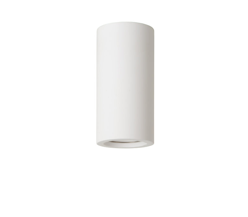 GIPSY Plafondlicht Rond GU10 D7 H14cm Wit