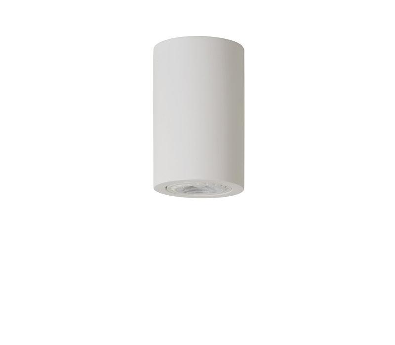 GIPSY Plafondlicht Rond GU10  D7 H11cm Wit