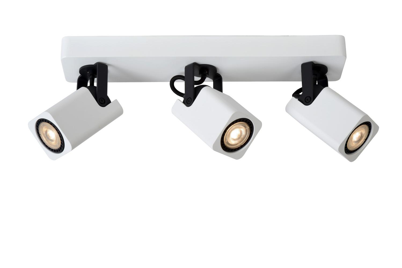 Lucide ROAX Spot LED 3xGU10/5W incl Dimbaar 320LM Wit