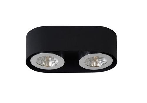 Lucide RADUS Plafondlicht LED 2x5W 450LM 3000K Zwart