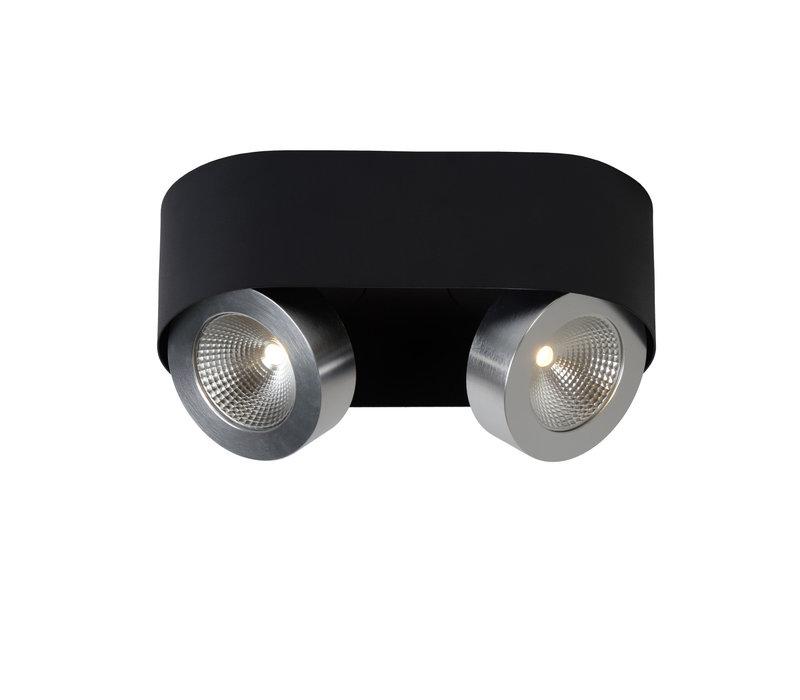 RADUS Plafondlicht LED 2x5W 450LM 3000K Zwart