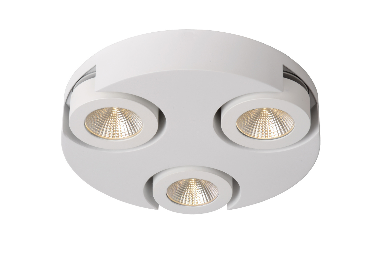Lucide MITRAX-LED Plafondlicht 3x5W 3000K �30cm Wit