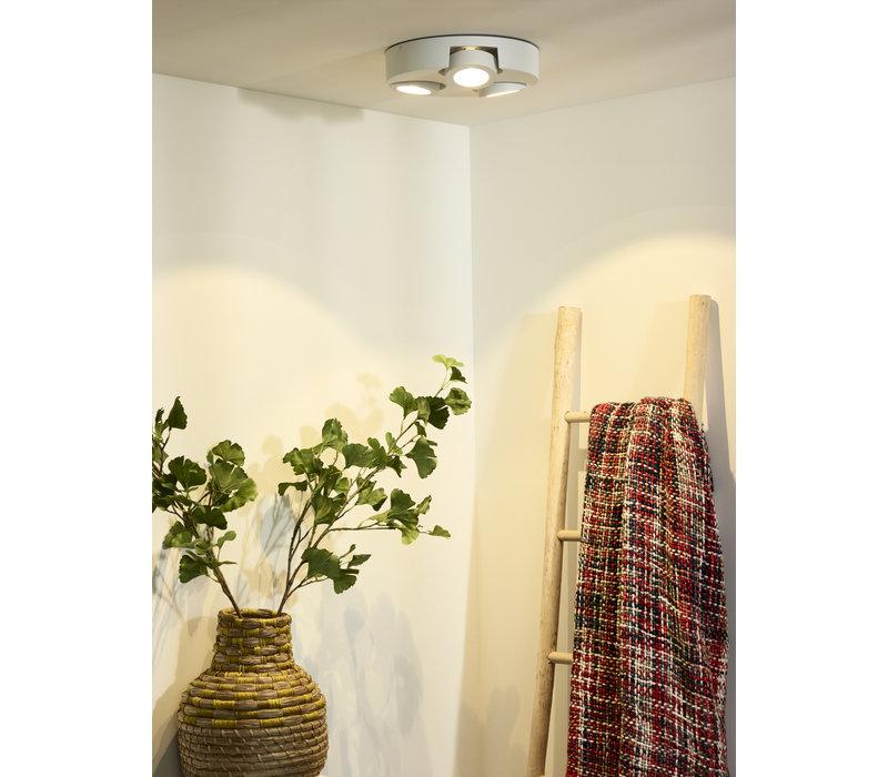MITRAX-LED Plafondlicht 3x5W 3000K Ø30cm Wit