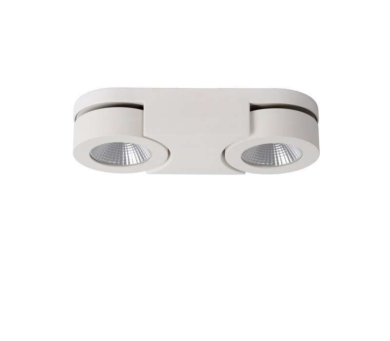MITRAX Plafondlicht LED 2x5W 3000K L26,4 W10 H5,5c