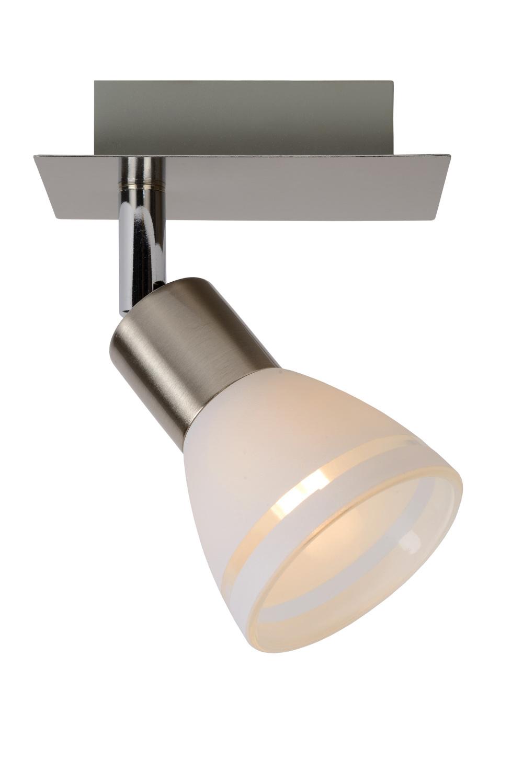 Lucide KOLLA LED Spot 1xG9/2.5W 200LM Mat Chroom/Glas