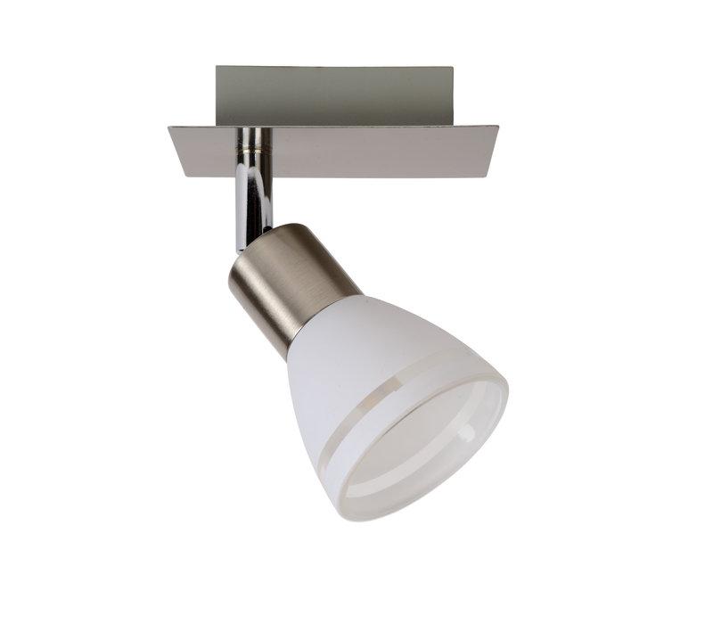 KOLLA LED Spot 1xG9/2.5W 200LM Mat Chroom/Glas
