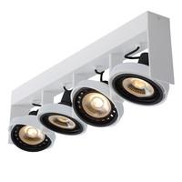 GRIFFON Plafondspot Dim-to-warm 4xGU10 12W Wit